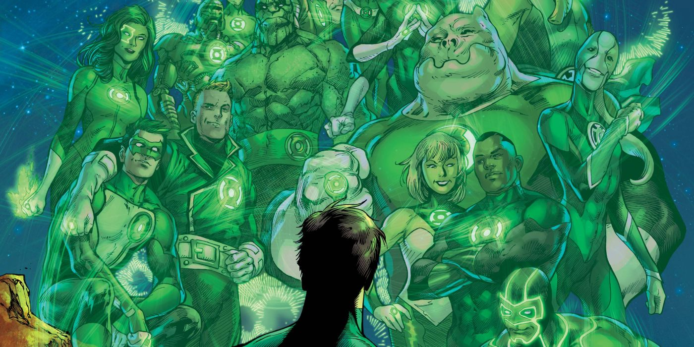 Green Lantern History Captured in 80th Anniversary First Look