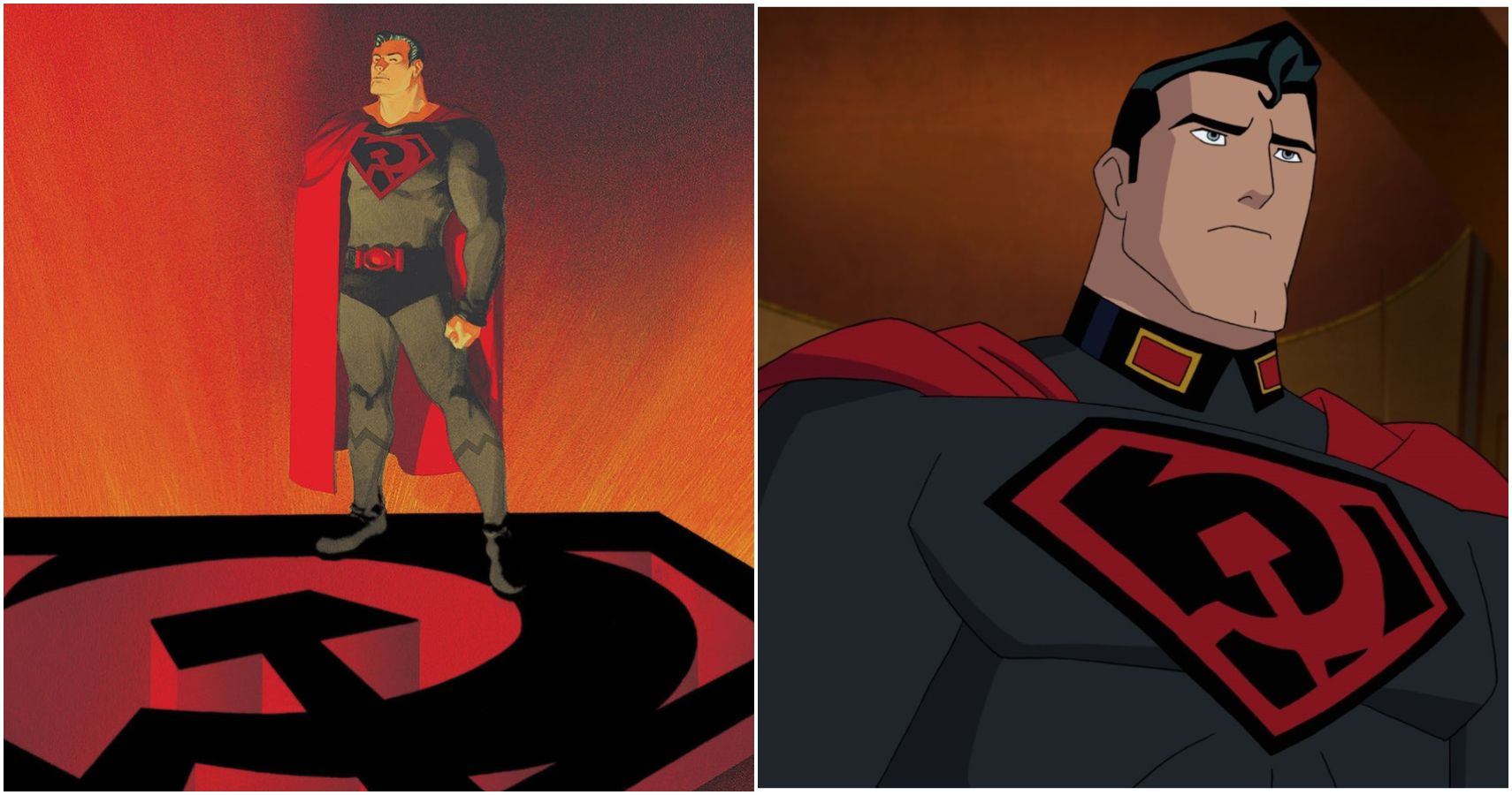 Superman Red Son 5 Ways The Dcau Movie Is Different From The Comic 5 Things That Remain The Same