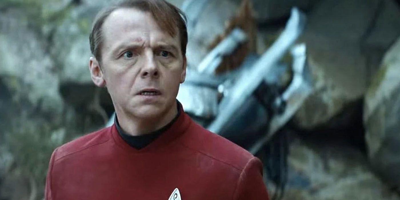 Simon Pegg Hasn't Completely Given Up on Star Trek 4