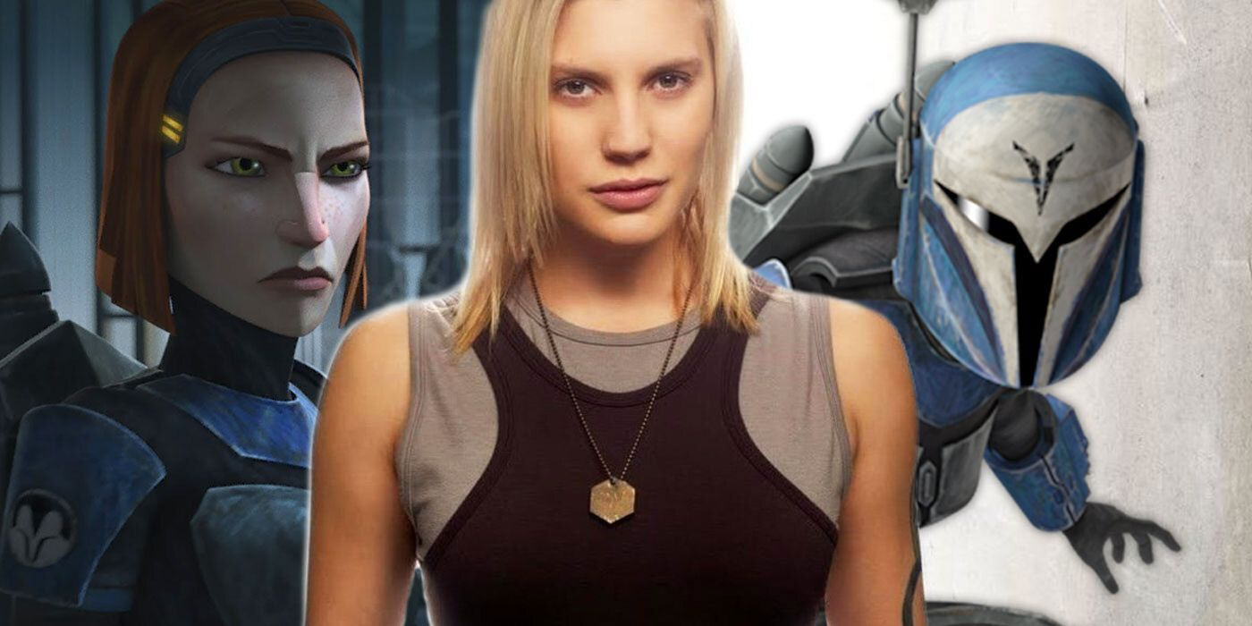 Wearing Bo-Katans Armor Brought Katee Sackhoff to...