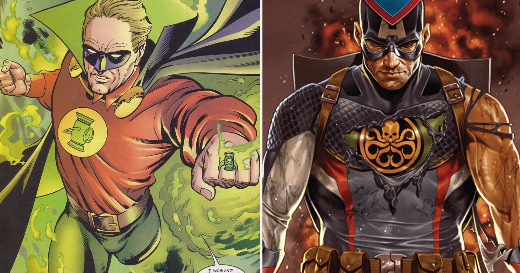 Green Lantern 5 Captain America Villains Alan Scott Could Defeat In A Fight 5 He Would Lose To