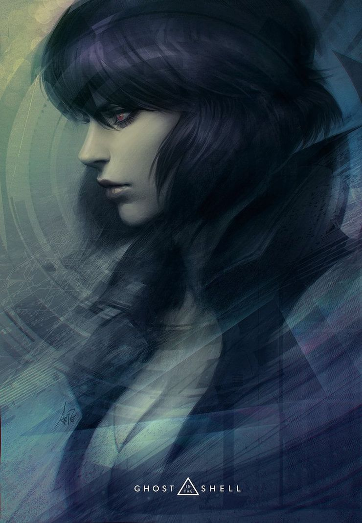 Ghost In The Shell 10 Pieces Of Motoko Kusanagi Fan Art That Look Just Like The Anime