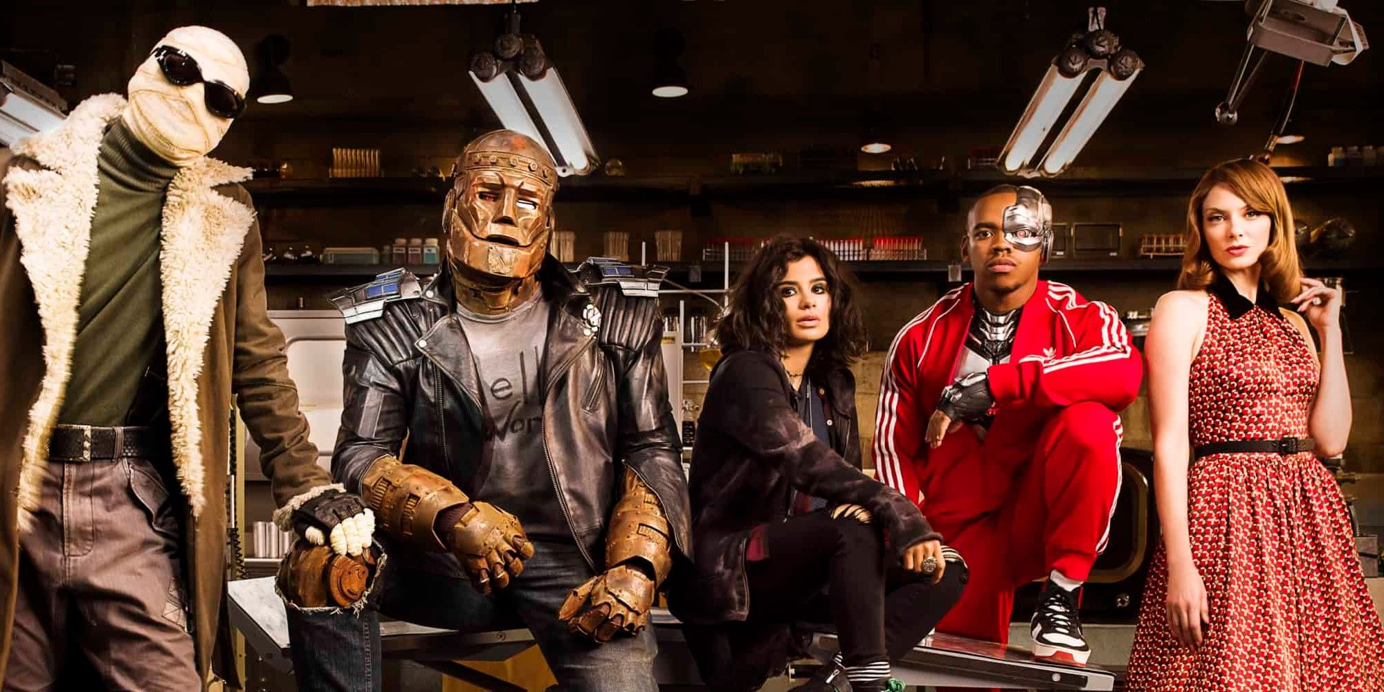 Doom Patrol Hbo Max Offering The First Three Episodes Free For