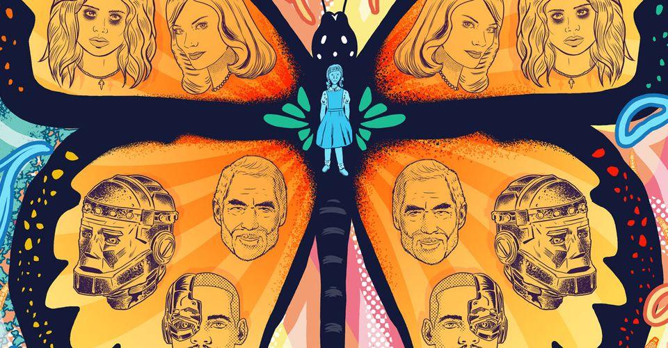 Doom Patrol Uk Artist Doaly Crafts Psychedlic Season 2 Poster