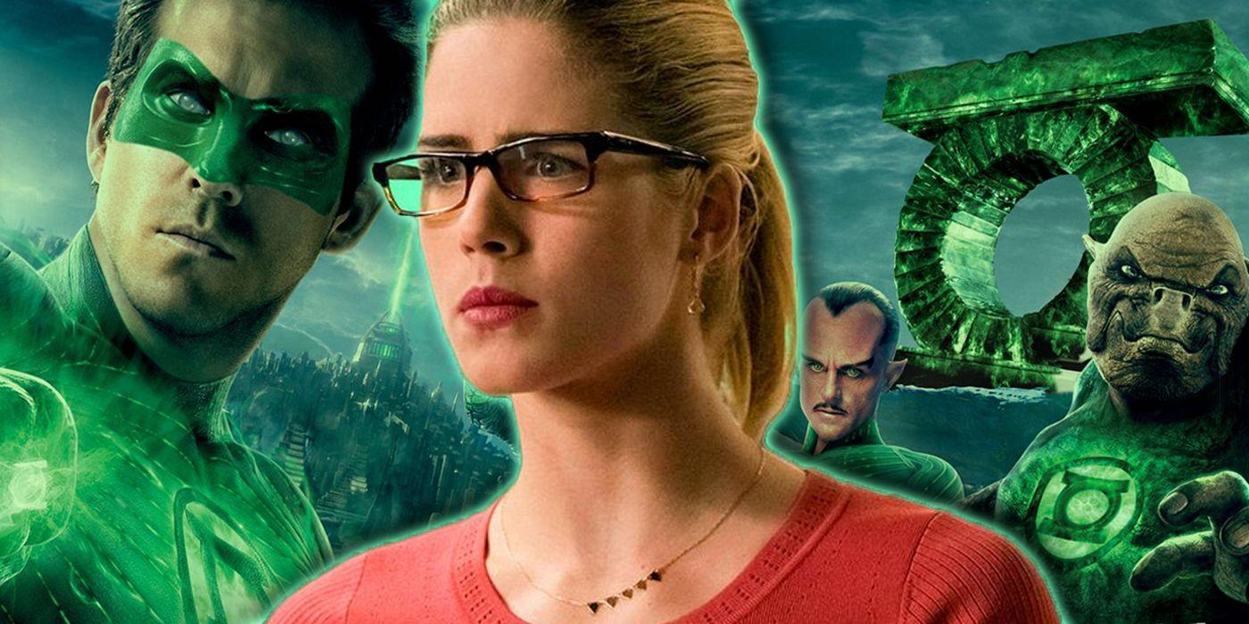 Arrow: Felicity Met the Green Lanterns During Crisis