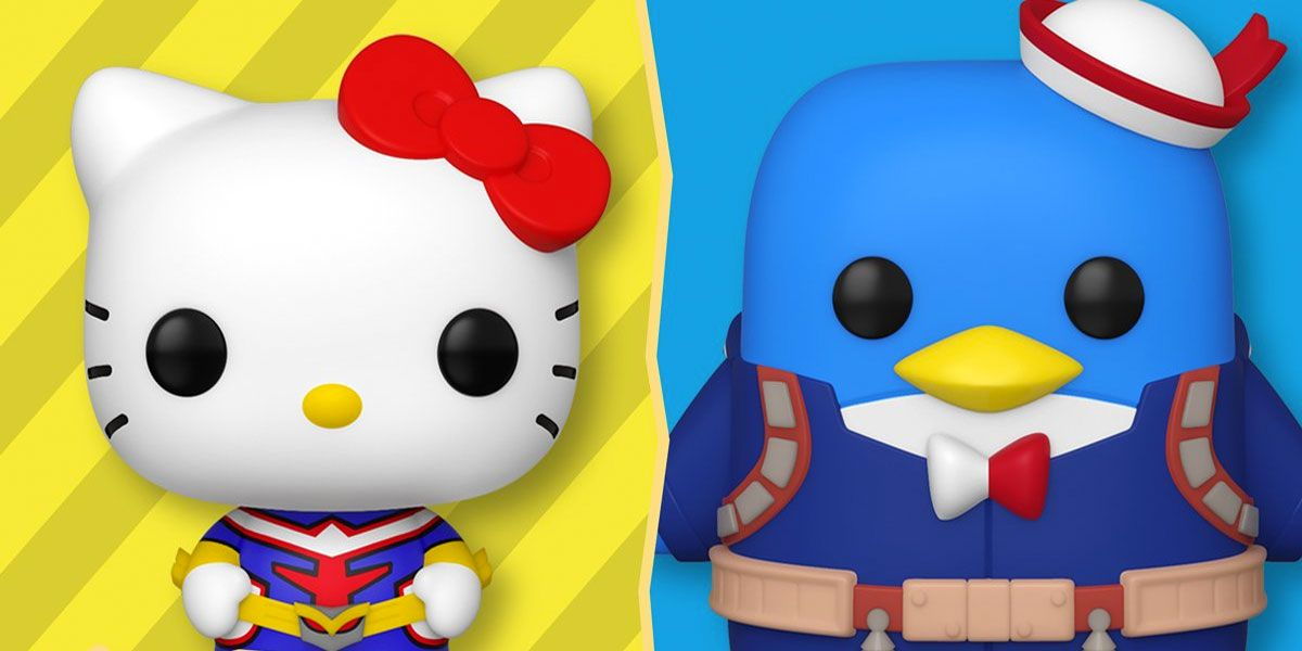 Hello Kitty & Friends Mash Up With My Hero Academia in New Funko Pop! Line