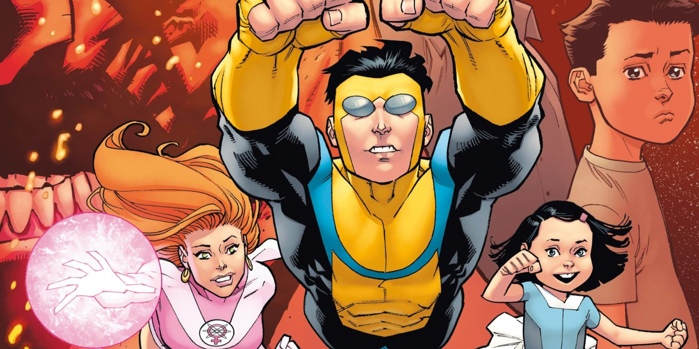 Invincible Officially Debuts Early Look at Animated Series Artwork