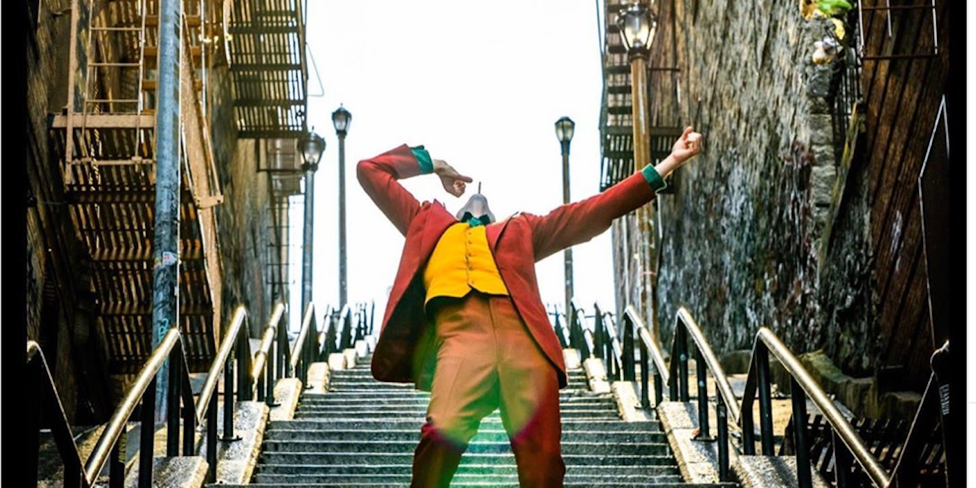 Joker: Todd Phillips Shares an Unseen Photo From Joaquin Phoenix's Stair Scene