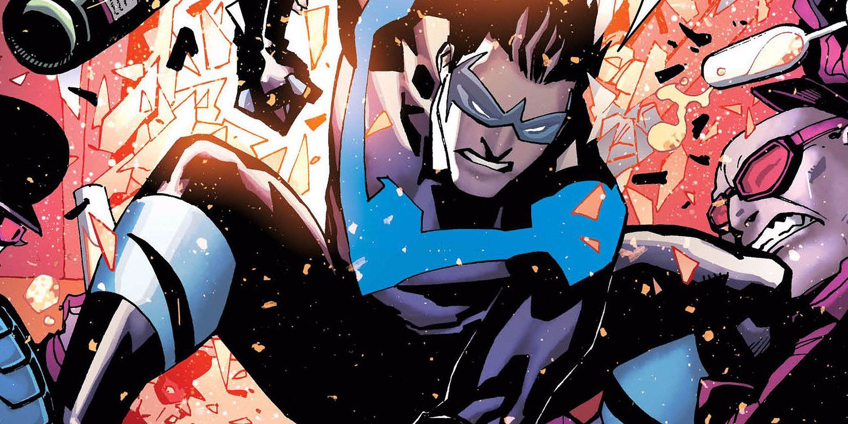 The 10 Most Impossibly Acrobatic Things Nightwing Has Ever Done