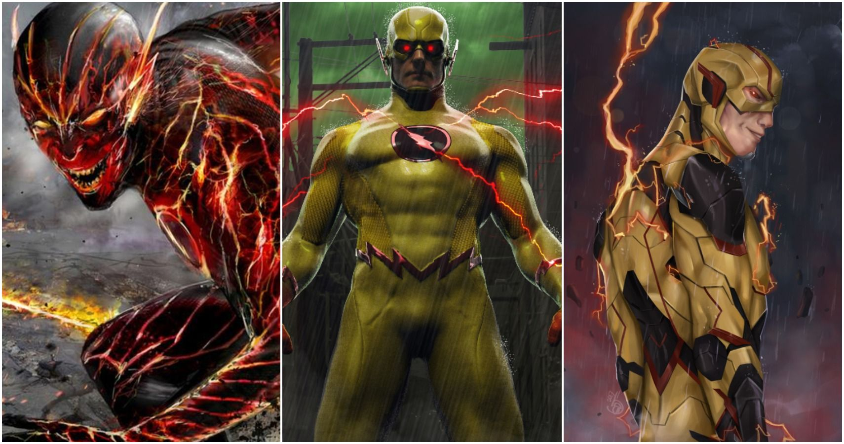 10 Reverse Flash Fan Art Pictures That Would Make The Flash Jealous