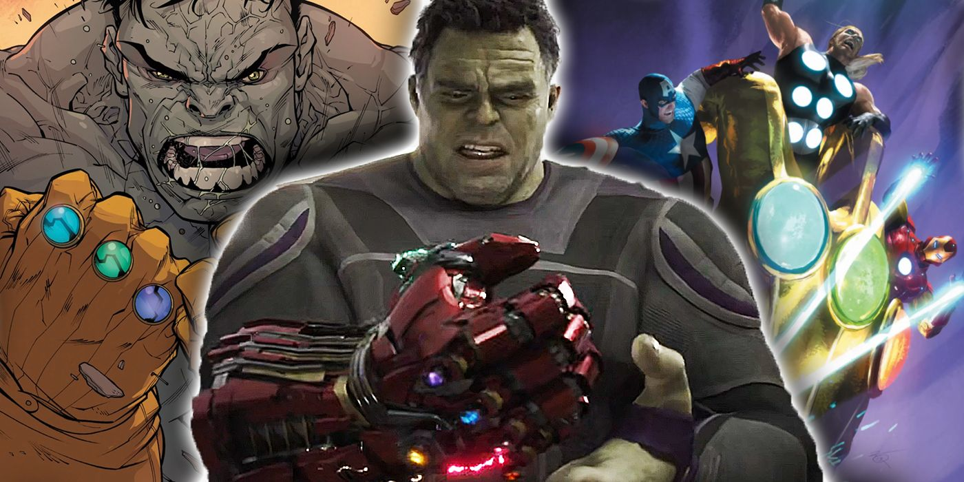 The Hulk Wore an Infinity Gauntlet Before Endgame - in Fact, He Wore TWO