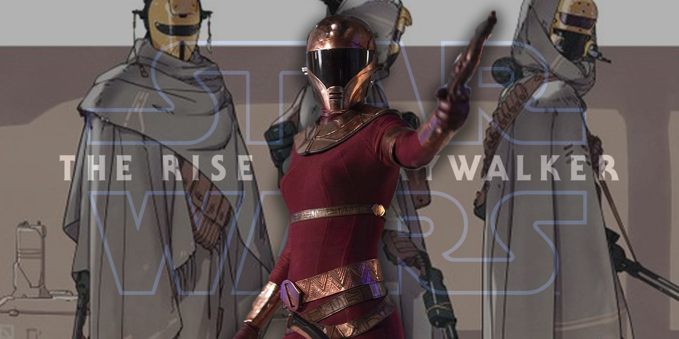 Star Wars: The Rise of Skywalker Concept Artist Breaks Down Zorii Bliss' Origin