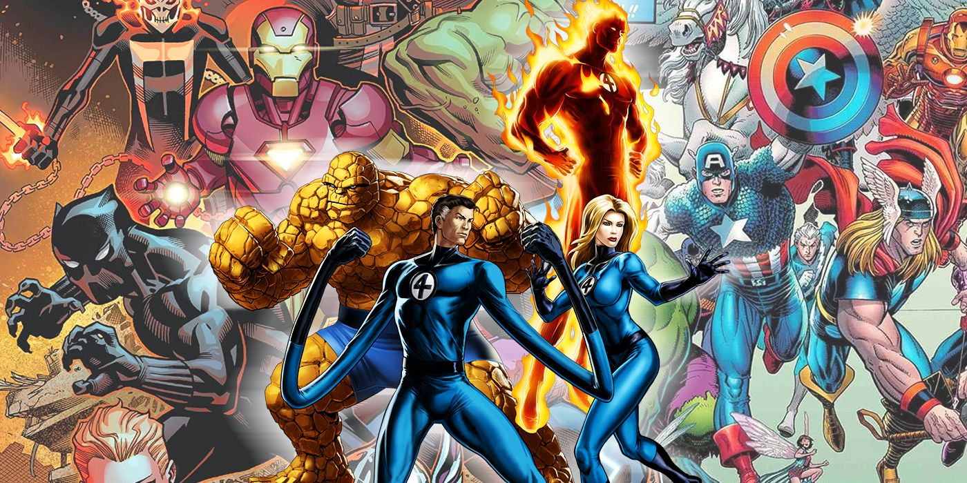 The Avengers vs. Fantastic Four - Who Would Win?   CBR