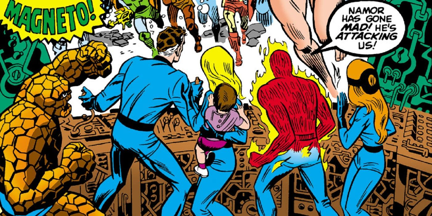 Look Back: Jack Kirby Bids Farewell to the Fantastic Four