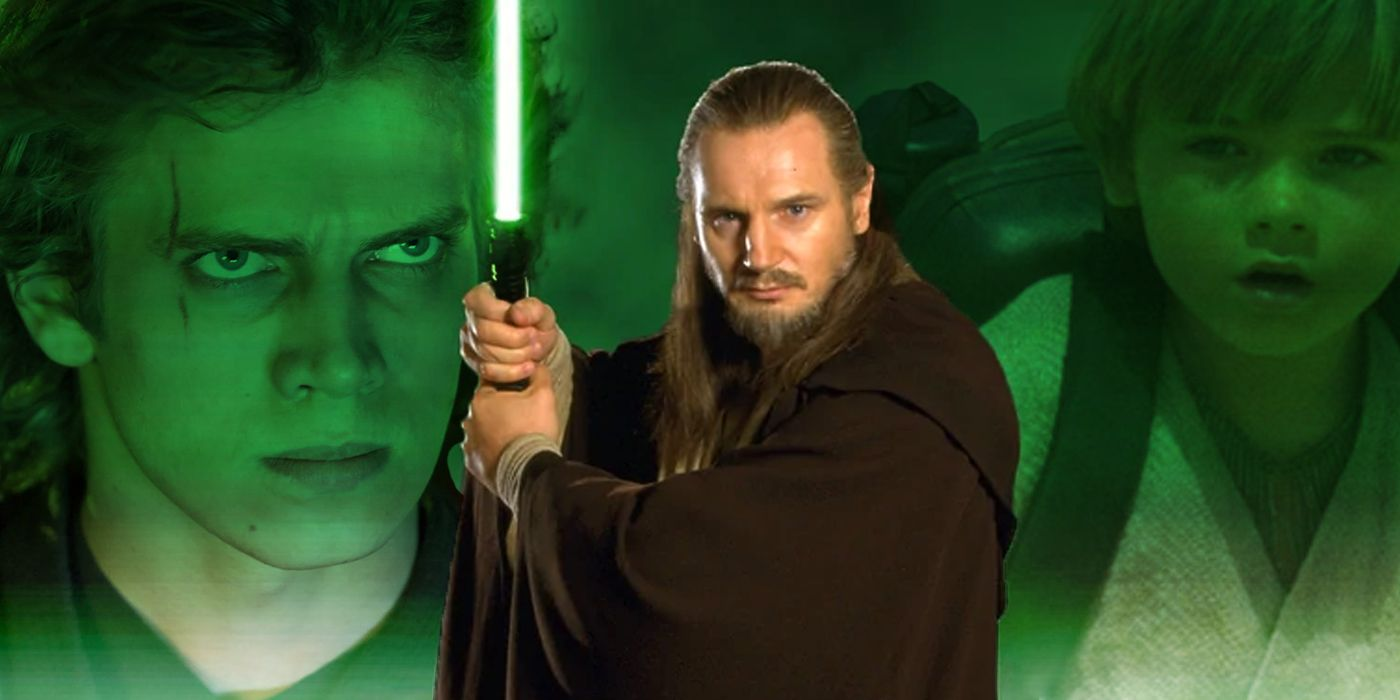 Star Wars Suggests Qui-Gon Could Have Saved Anakin From the Dark Side