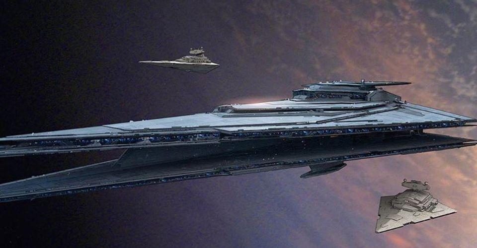 Star Wars Rise Of Skywalker Concept Art Reinvents The Star Destroyer