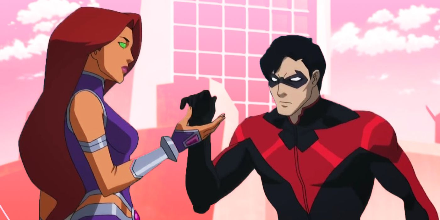 Teen Titans How Dc Animated Movies Made Two Fan Favorite Robin Ships Canon