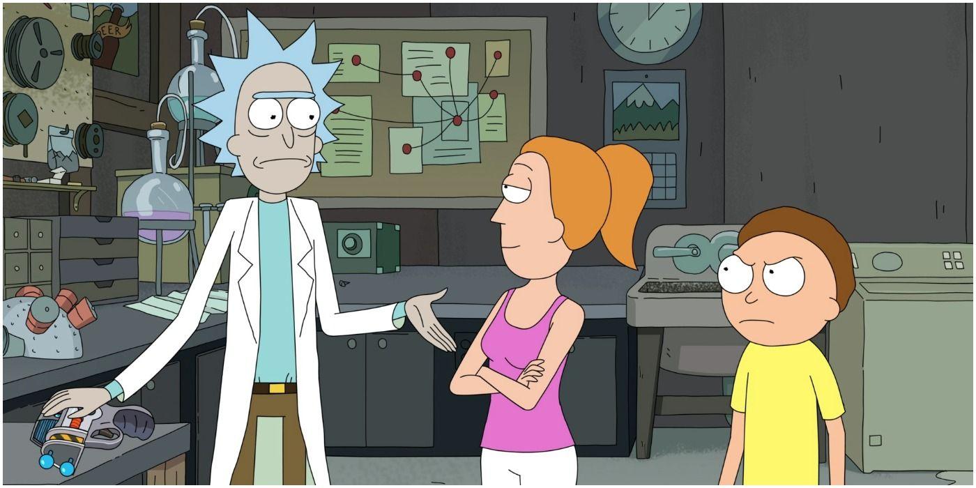 10 coisas que você nunca notou sobre a garagem de Rick e Morty 6