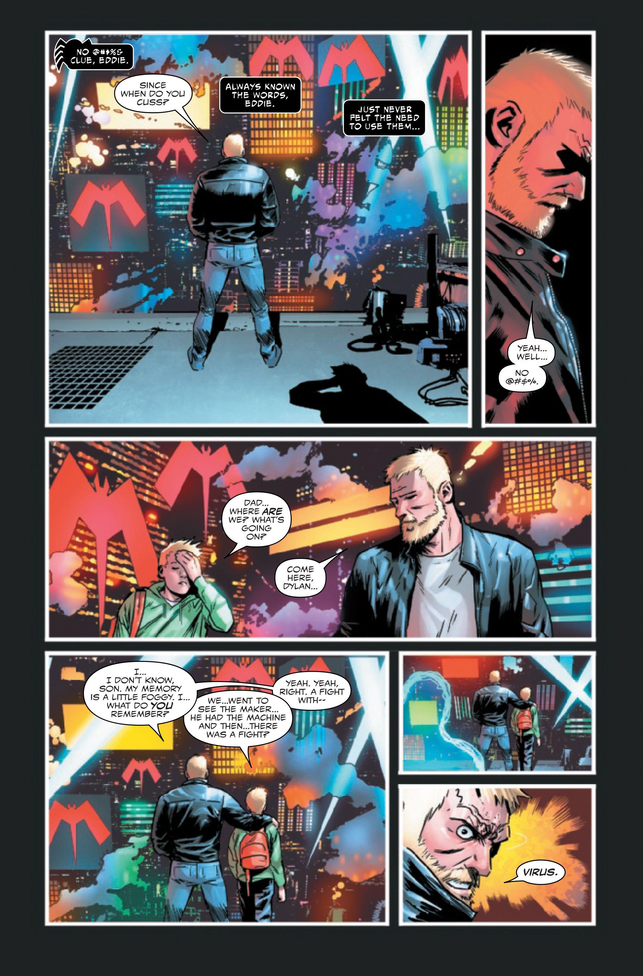 Venom: Simbiote alienígena de Eddie Brock [SPOILER] e Ed pela primeira vez 4