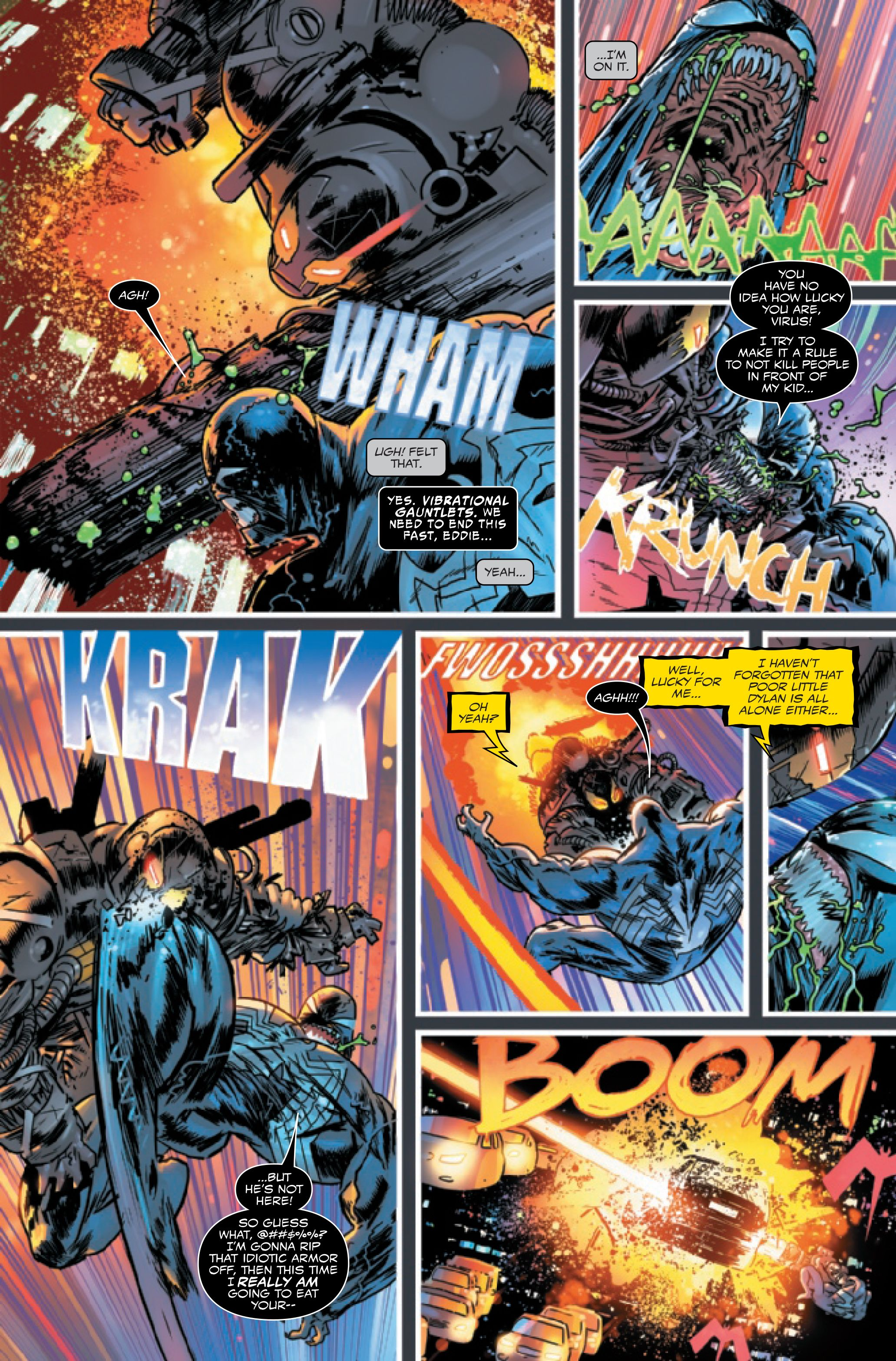 Venom: Simbiote alienígena de Eddie Brock [SPOILER] e Ed pela primeira vez 6