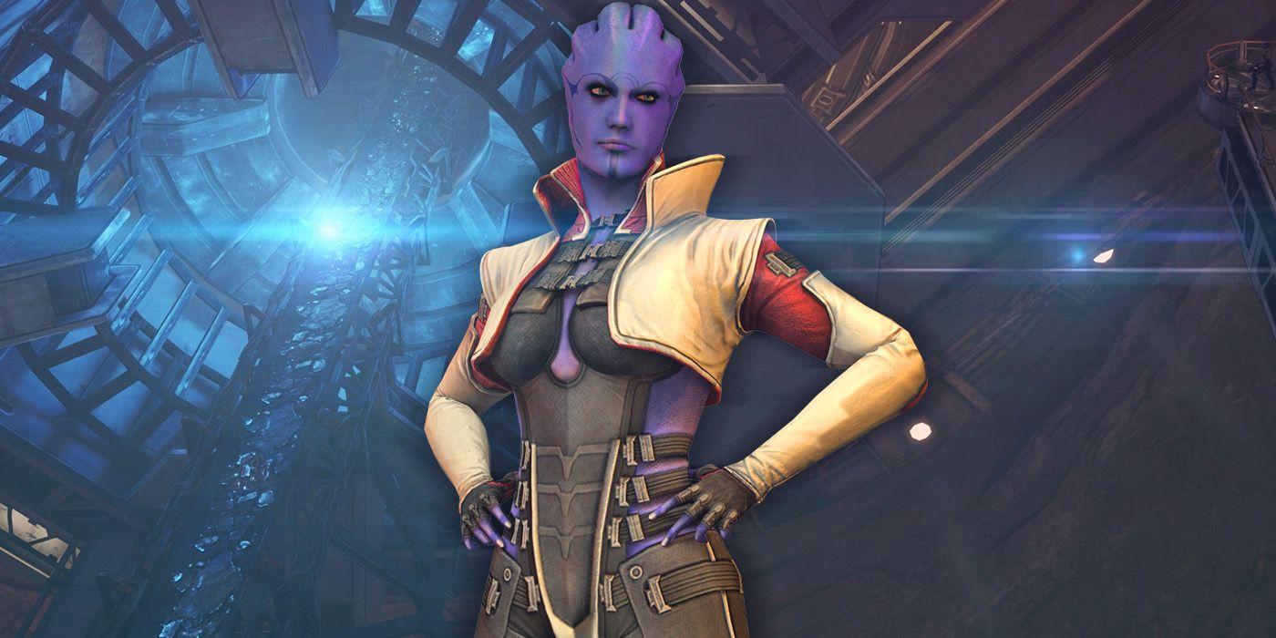 Mass Effect: Aria T'Loak, Omega's Big Crime Boss, Revealed