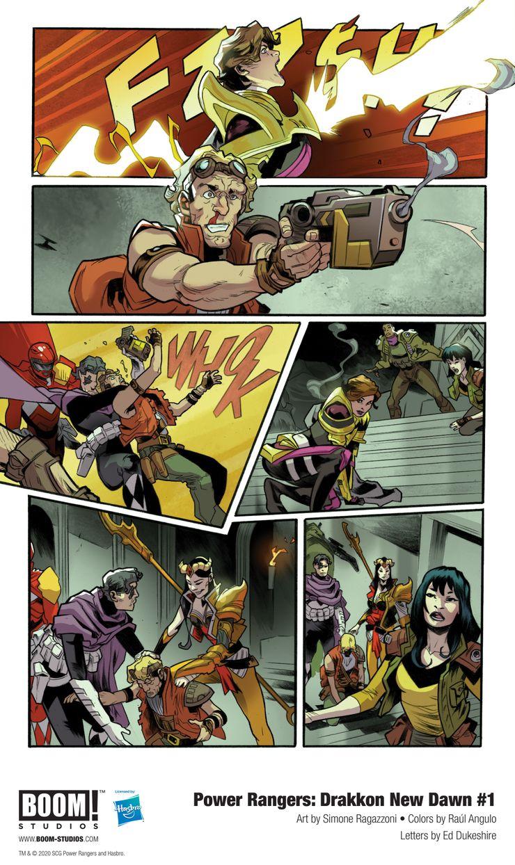 Power Rangers: The Ranger Slayer Is Back in Drakkon New Dawn #1 ...