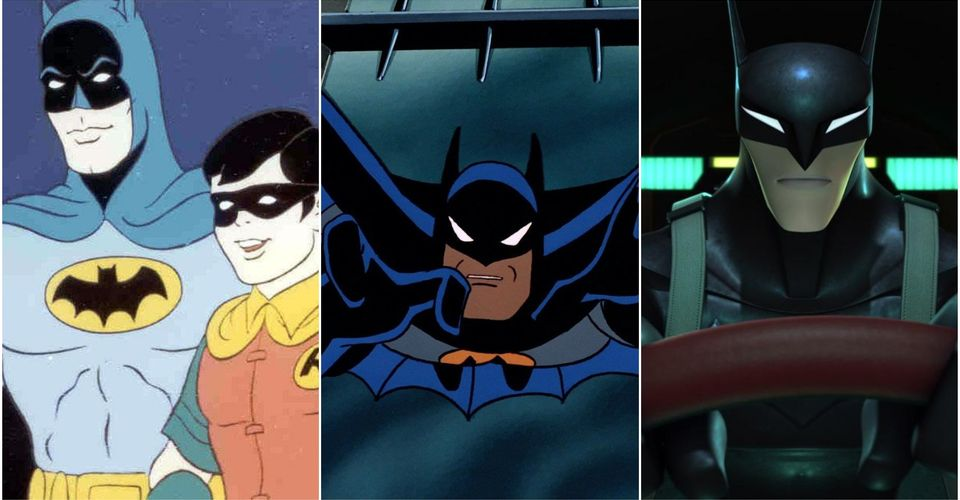 Every Animated Batman Series In Chronological Order Cbr