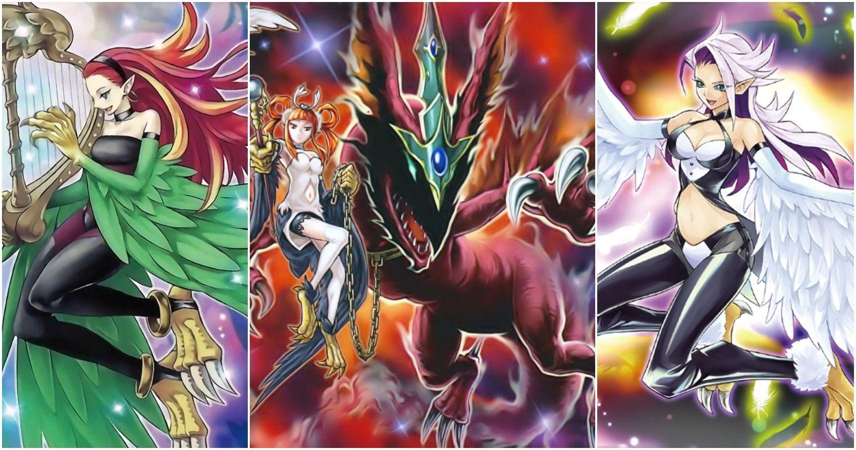 yugioh the 10 best harpie card arts ranked  cbr