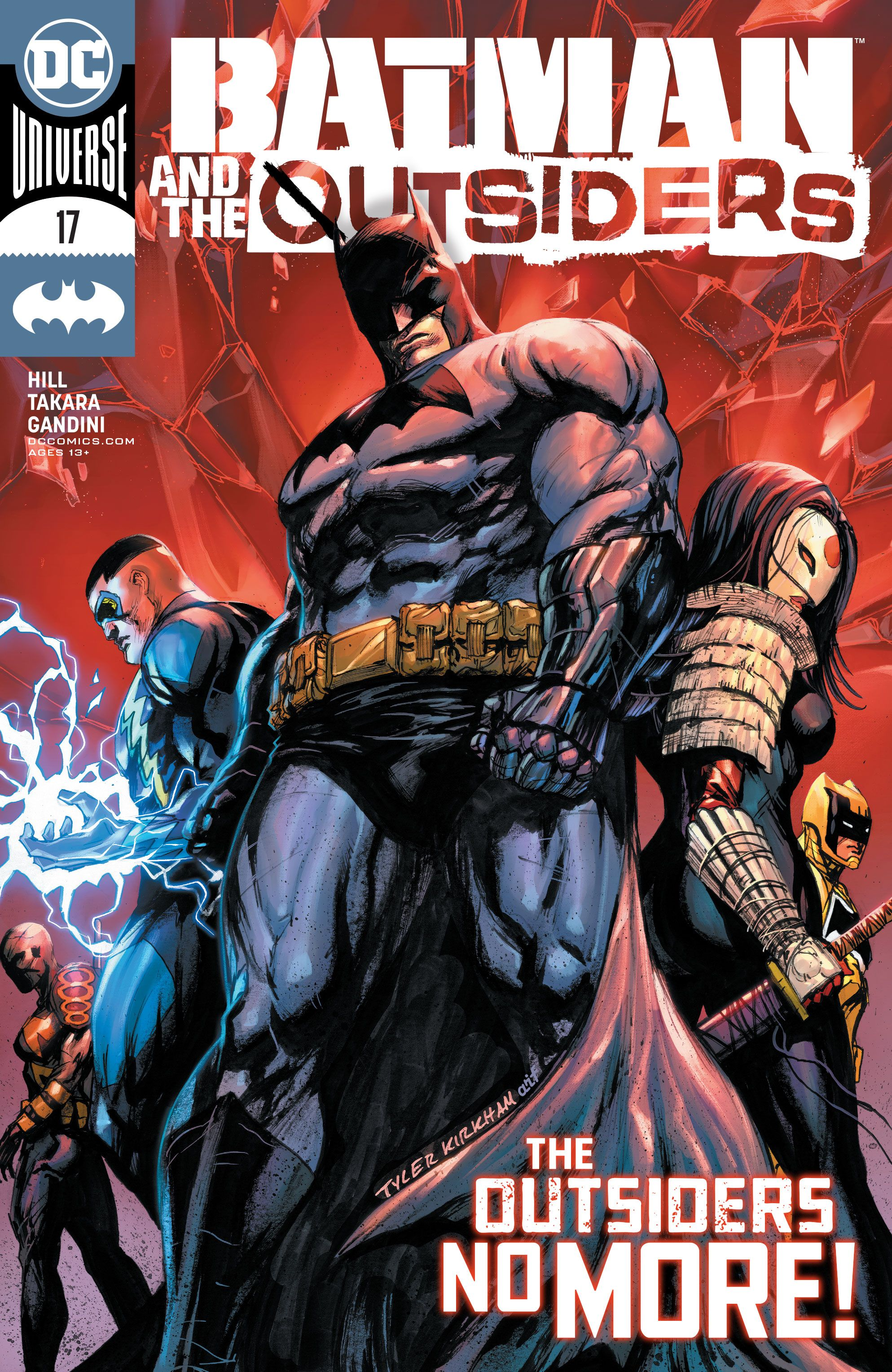 Preview Batman And The Outsiders 17 Cbr