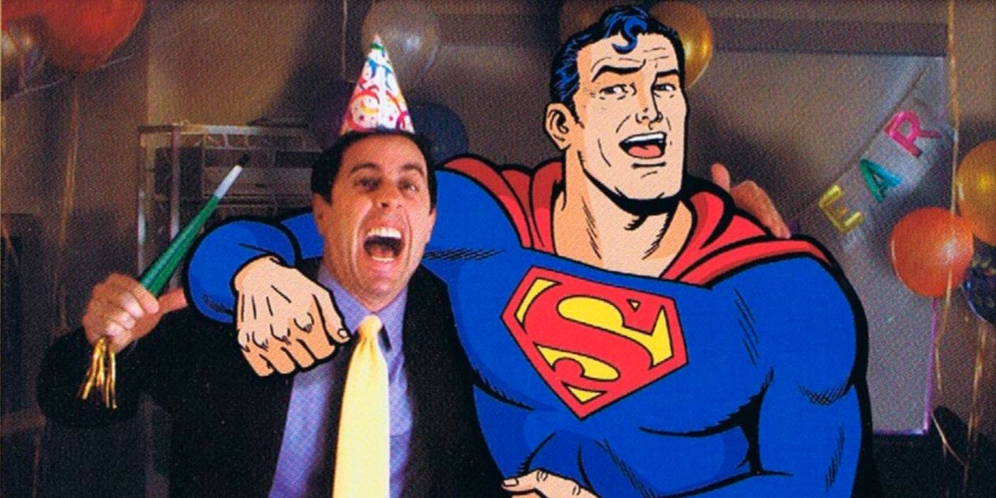 Superman's Most Infamous Move Was Almost Used to Fix Jerry Seinfeld's DVD Player