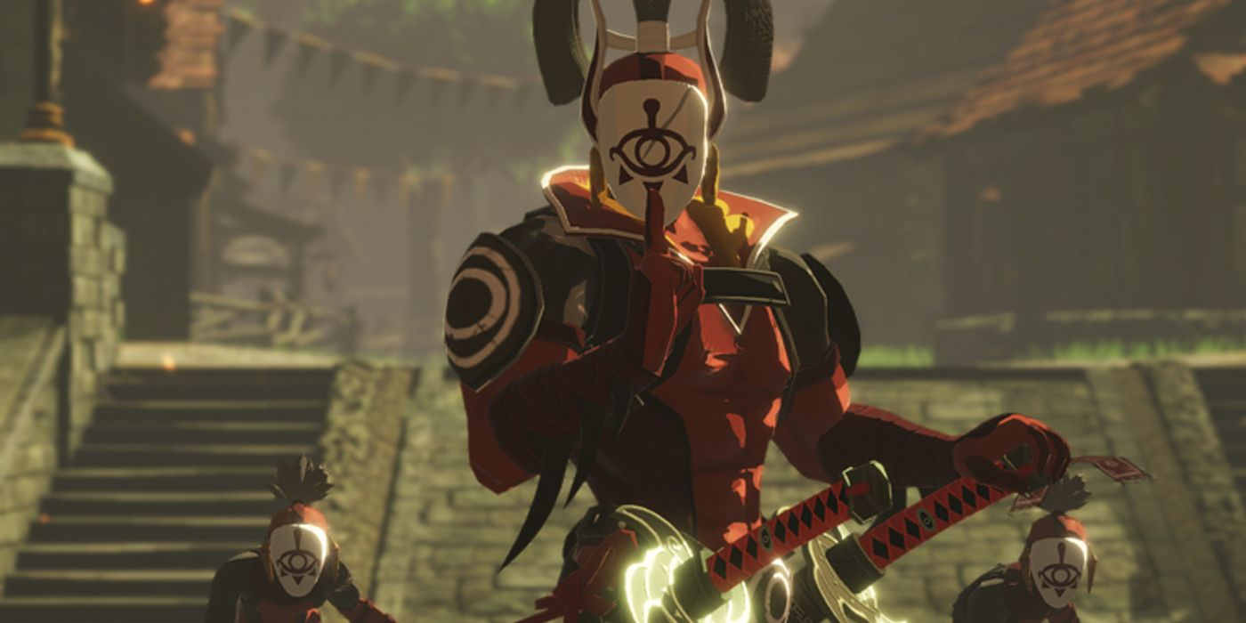 Hyrule Warriors Age Of Calamity Stills Show Off Powers Cbr