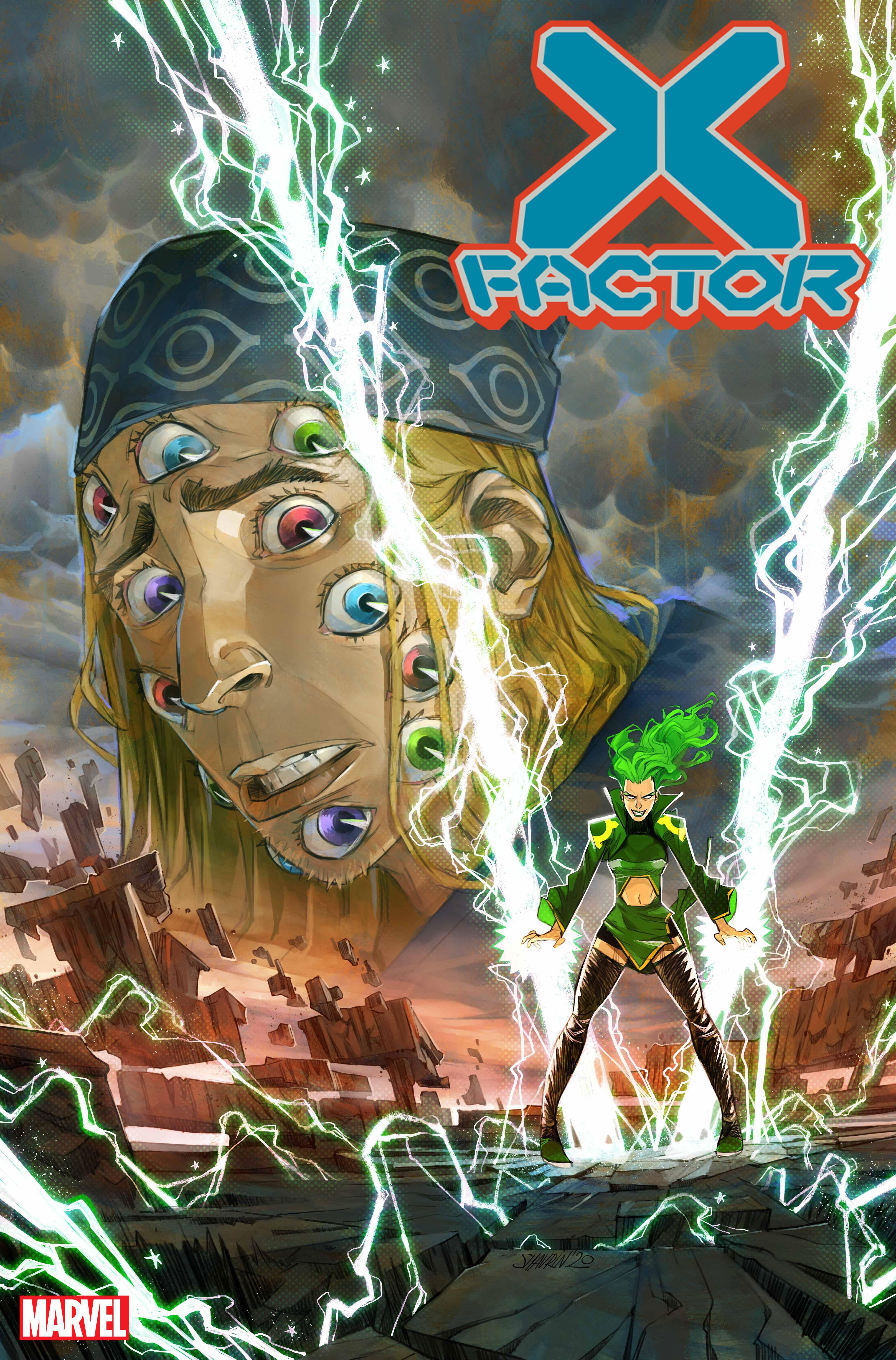O X-Factor revela os poderes da Polaris na capa de Ivan Shavrin (exclusivo) 1