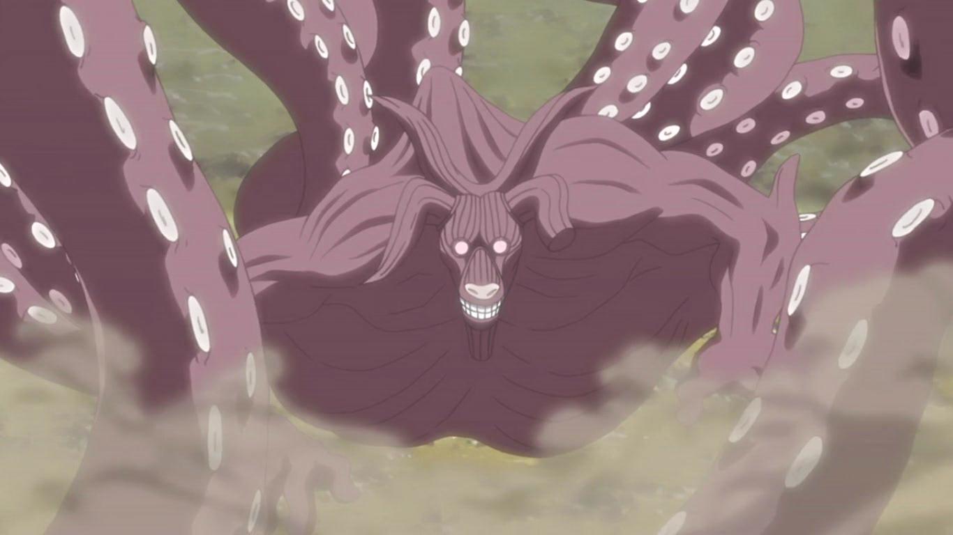 Naruto: As 9 Bestas com Caudas: Classificado do mais fraco ao mais forte 8