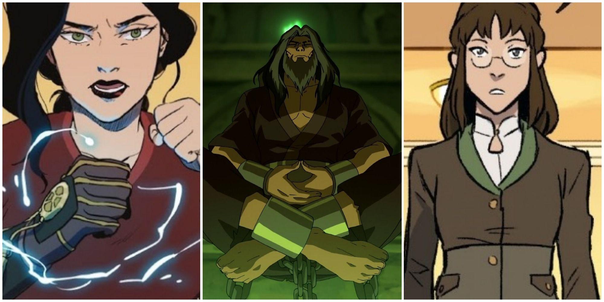 The Legend Of Korra: Non-Bender