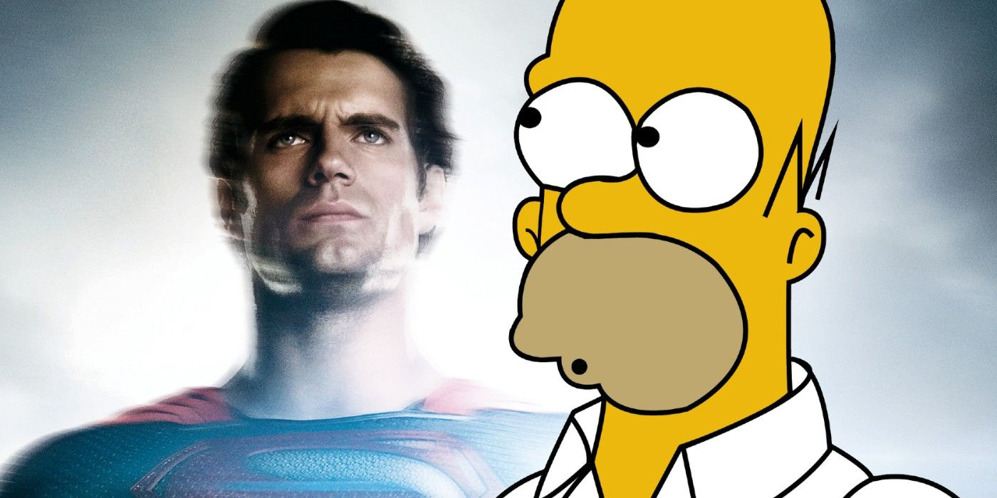 How The Simpsons Threw Shade at Zack Snyder's Man of Steel