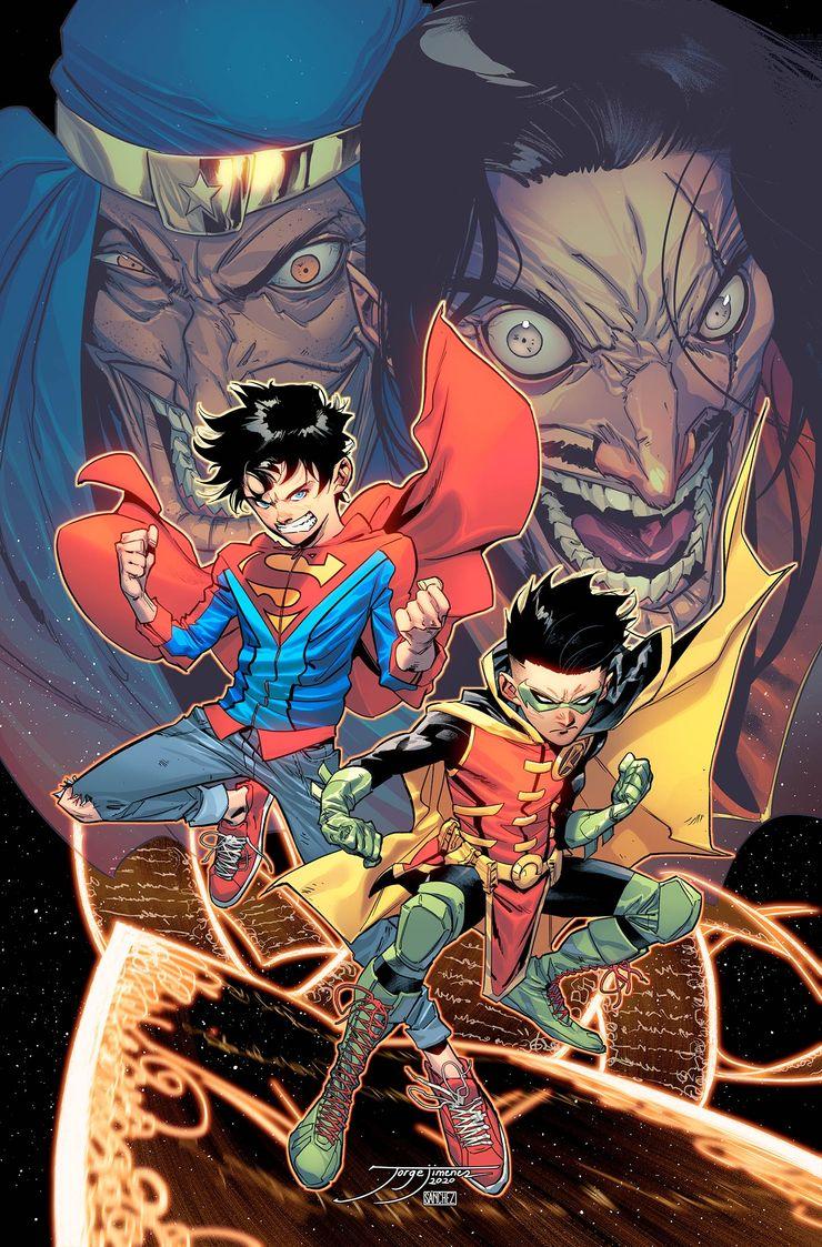 SUPER SONS Digital COVER COLOR 2 - DC reúne a Superboy y Robin en Challenge of the Super Sons