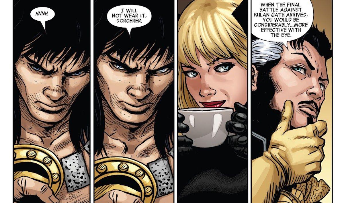 Savage Avengers: ÍCONE da Marvel acaba de recusar a arma mais poderosa do Doctor Strange 1
