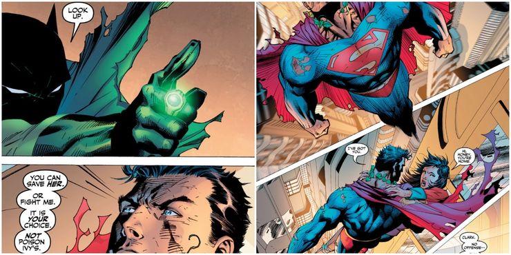 Batman Hush Batman Helps to Sway A Mind Controlled Supermans Conscience - Cuando la bondad y amabilidad de Superman se interpusieron en el camino