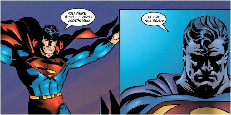Batman No Mans Land Superman fails to save Gotham - Cuando la bondad y amabilidad de Superman se interpusieron en el camino