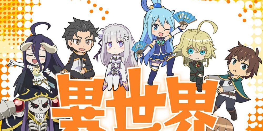 10 melhores anime Isekai lá fora (que não são: Re: Zero) 9