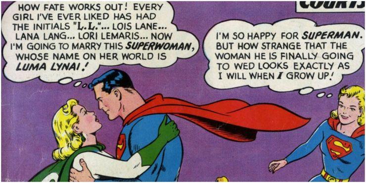 Superman Luma Lynai Action Comics 289  - Los 10 romances más extraños de Superman en los cómics