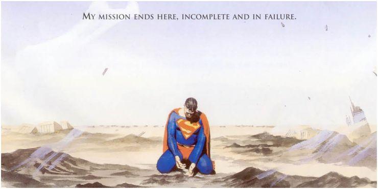 Superman Peace on Earth Superman fails to feed the hungry 1 - Cuando la bondad y amabilidad de Superman se interpusieron en el camino