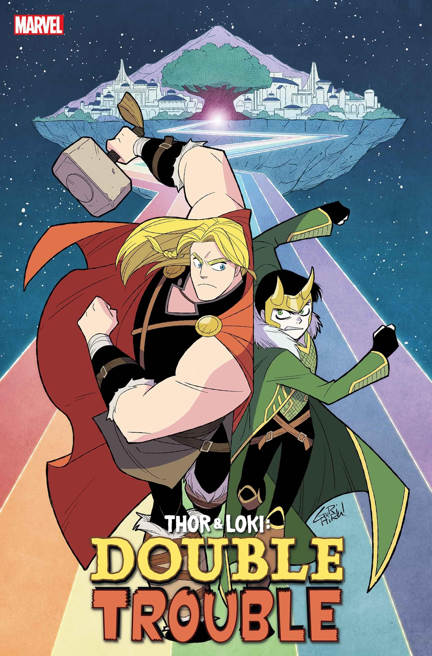 Thor e Loki apresentam problemas em dobro na nova série da Marvel 1