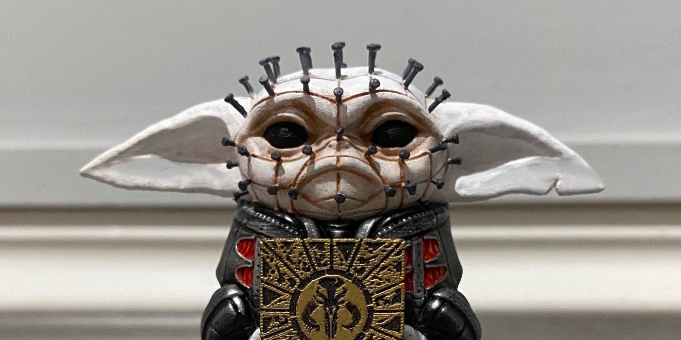 This Hellraiser-Themed Baby Yoda Statue Is Scary Cute | CBR