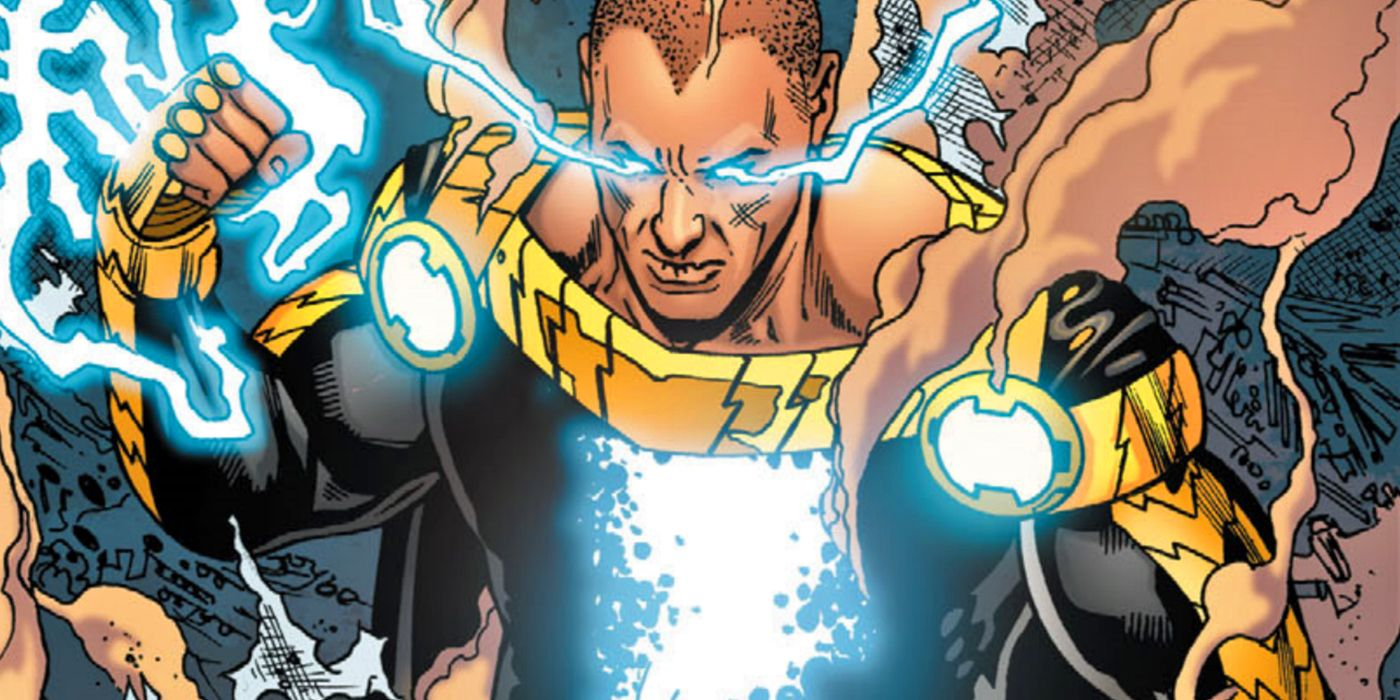 Black Adam: The Future DCEU Star Is Having a Child With a Future Wonder Woman