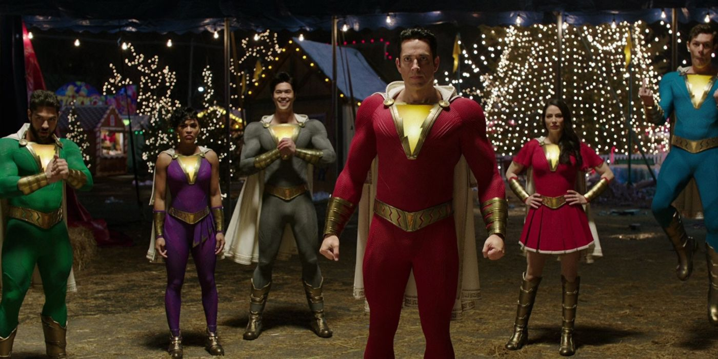 Shazam Won't Be the Only Superhero With a New Suit in the Sequel