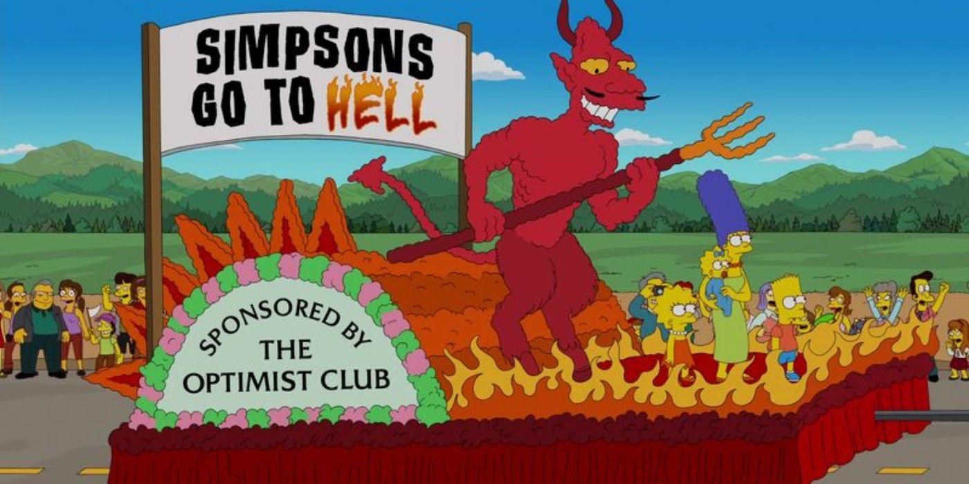 Simpsons vão para o inferno