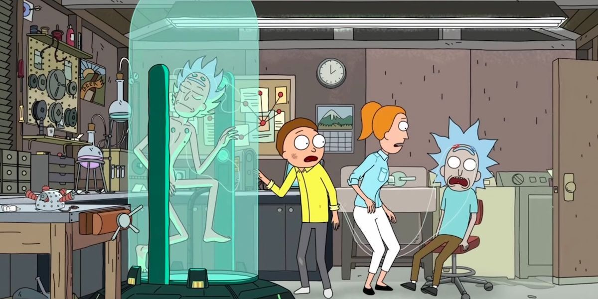 10 coisas que você nunca notou sobre a garagem de Rick e Morty 7