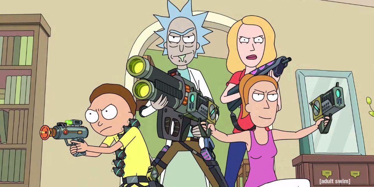 10 coisas que você nunca notou sobre a garagem de Rick e Morty 1