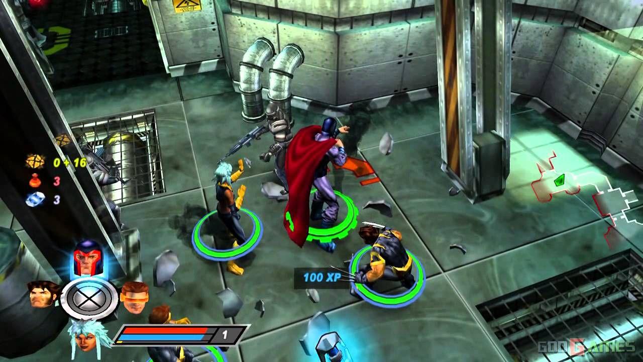 O Jogo X-Men Legends 3 está muito atrasado 1